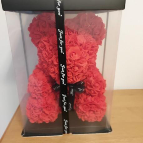 Artificial rose bear