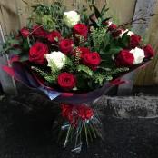 Elizabeth rose bouquet