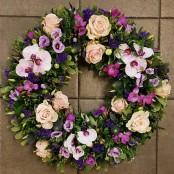 Contemporary wreath ring
