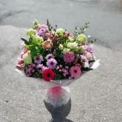Pink sage bouquet