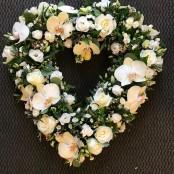 Contemporary white heart